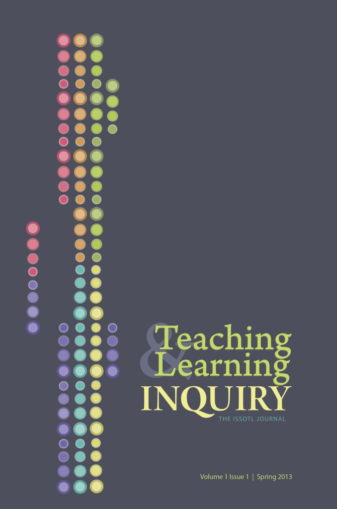 Editorial Manager, Teaching & Learning Inquiry: The ISSOTL Journal
